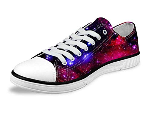 Galaxy Space Men Women Canvas Shoes Outdoor Casual Sneakers Training Shoes Flats Fashion galaxy-C0162AP 4 Carlyle China