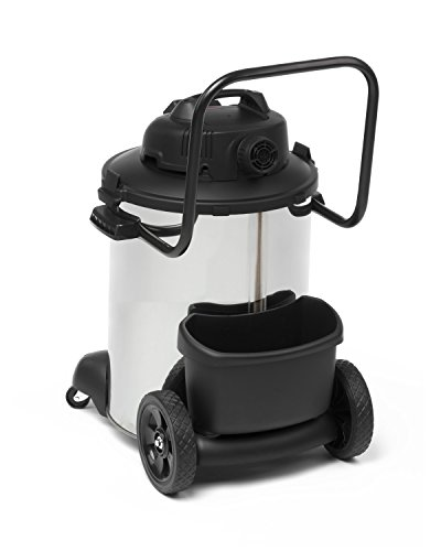 Shop Vac 9274624 Pro Synchro Stainless Steel Wet-Dry Vacuum Cleaner, 60 Litre, 1800 W, Silver