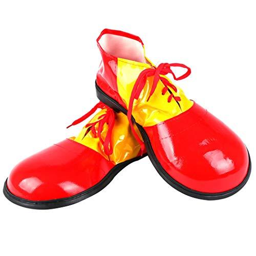 own Schuhe Große Phantasie Kostüm Schuhe Clown Kostüm Versorgung für Erwachsene ()