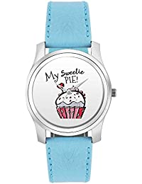 BigOwl My Sweetie Pie | For Couples Him/Her Fashion Watches For Girls - Awesome Gift For Daughter/Sister/Wife/...