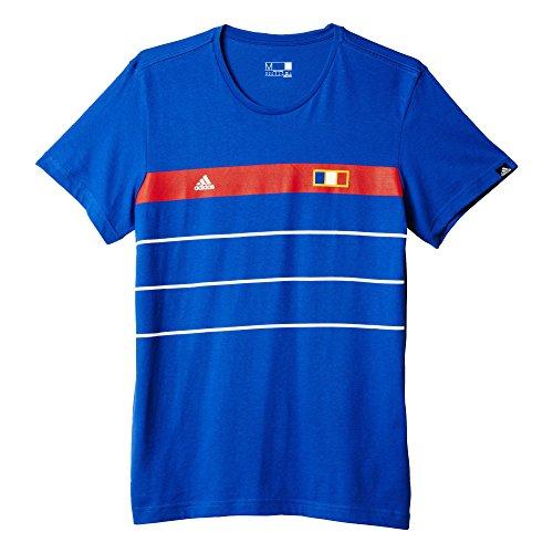 adidas Herren T-Shirt Frankreich History Graphic, Collegiate Royal, M