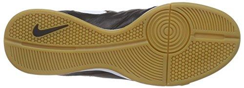 Nike Herren Hypervenomx Phelon Iii Ic Fußballschuhe Schwarz (Black/White-Metallic Gold)