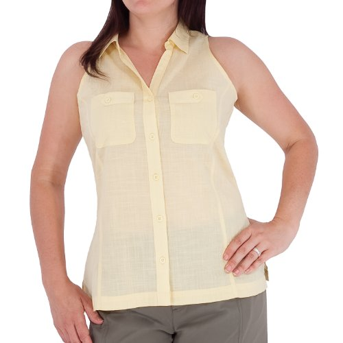 Royal Robbins Frauen 'S Cut Away Sleeveless Shirt Straw