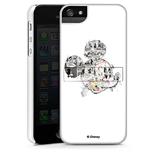 Apple iPhone SE Hülle Case Handyhülle Disney Mickey Mouse Merchandise Geschenke Premium Case StandUp