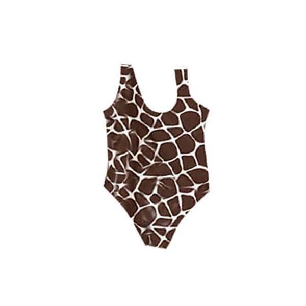 Heetey - Bañador para niña, diseño de Leopardo 1