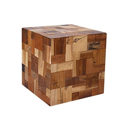 Rendez vous déco Table d'appoint carrée Jacob en Bois