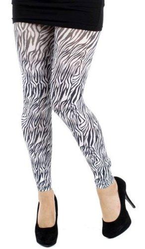 Pamela Mann-Legging zebrato, taglia unica