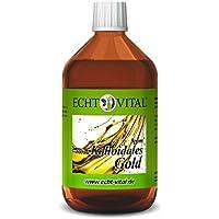 Preisvergleich für Echt Vital Kolloidales Gold 8 ppm - 1 Flasche mit 500 ml - Reinst-Gold (Reinheitsstufe 99,99%)