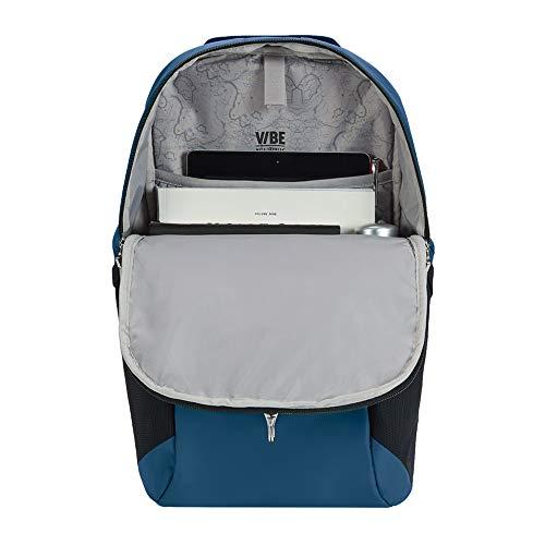 Pacsafe Vibe 20 - Anti-Diebstahl Rucksack, Backpack, Diebstahlschutz Daypack, Sicherheitstechnologie 20 Liter, Blau/Eclipse