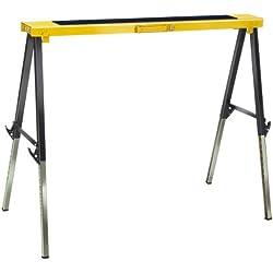 Brennenstuhl 1444610 MB 120 KH Tréteau de travail pliable, Noir/jaune/argent, 5 m