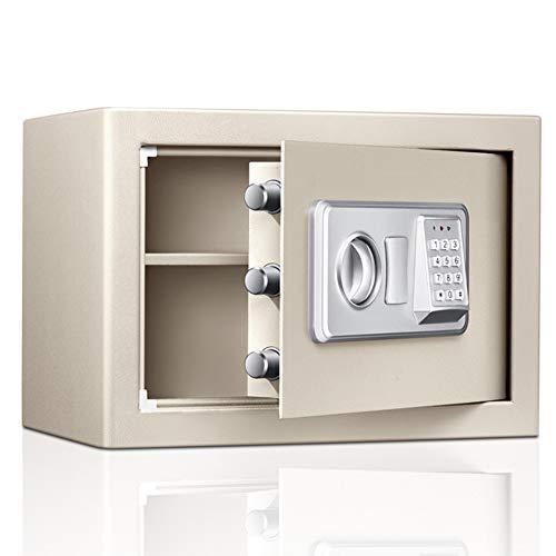 MIAOLULU Digital Safe Box Fire Proof Security Secret Box Electronic Password Safe for Jewellery Gold