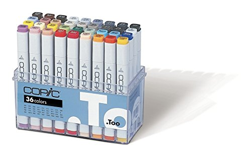 Copic Marker - Basis - 36er Set