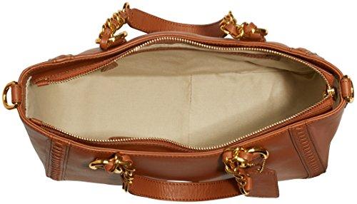 POON Switzerland Damen Handtasche & Schultertasche Cognac