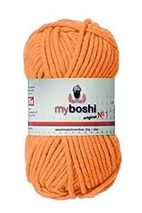 myboshi Crochet/Strickgarn, Wolle Mix, apricot