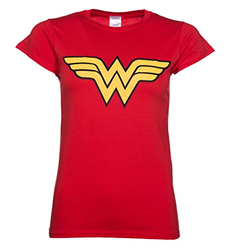 Red Wonder Woman Logo Shirt
