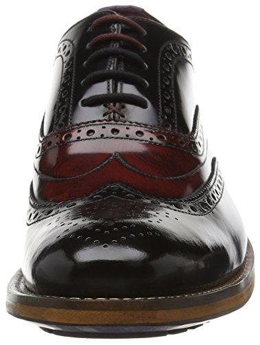 Ted Baker - Krelly 2, Stringate Uomo Nero (BLACK / DARK RED)