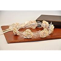 Corona di fiori per matrimoni e comunioni