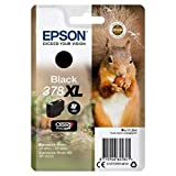 Epson Original 378XL Tinte Eichhörnchen, XP-8500 XP-8600 XP-8605 XP-15000, Amazon Dash Replenishment-fähig (schwarz)