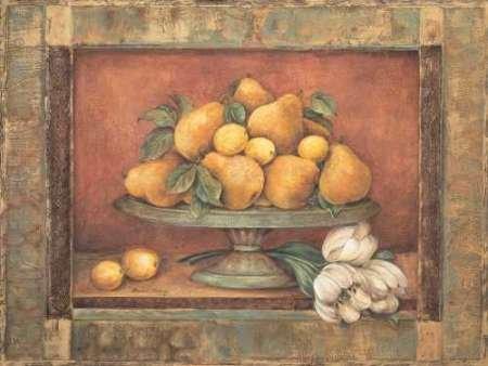 Florentine Pear - Fine Art Print on Fine Art Paper - PRINT ONLY -NO FRAME - 15 x 11 Inch
