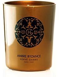 HERVE GAMBS PARIS Bougie de Parfum Ambre Byzance 190 g