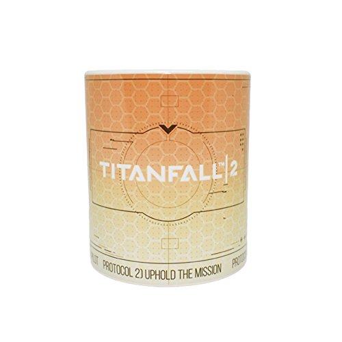 Preisvergleich Produktbild Rubber Road Titanfall 2 Heat Reactive Tasse Englisch
