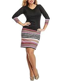Mini vestido, ✽Internet✽ Mujeres de manga larga corto vestido de fiesta mini vestido