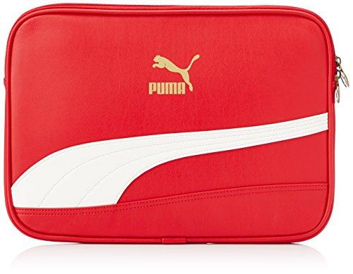 Preisvergleich Produktbild Puma Laptoptasche Bytes Laptop Sleeve,  haute red-whisper white,  S,  1 Liter,  071926 03