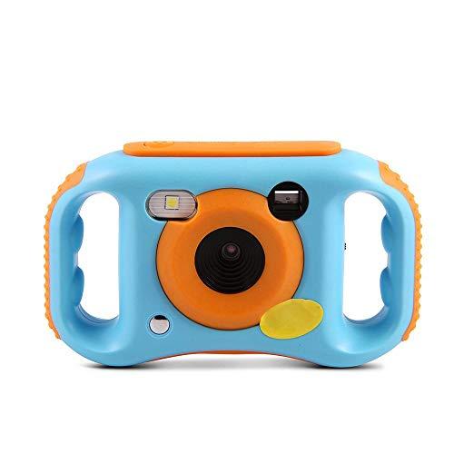 KOBWA Digitale WiFi-Kamera für Kinder, USB-aufladbare 1080P HD-Digitalkamera für Kinder mit 1,77 Zoll-LCD-Bildschirm, 7-Farben-Filtereffekt, Blitz und Mikrofon für Mädchen/Jungen