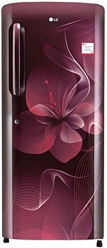 LG 235 L 4 Star Direct-Cool Single Door Refrigerator (GL-B241ASDX.DSDZEBN,...