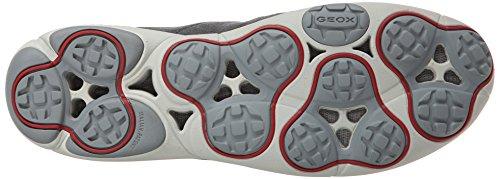 Geox U Nebula B, Sneaker Uomo Grigio
