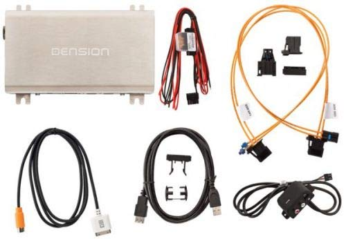 Dension-Gateway-500-GW51AU1-Interface-iPhone-iPod-USB-AUX-fr-Audi-A4-A5-A6-A8-Q5-Q7-MMi-2G-Basic-High
