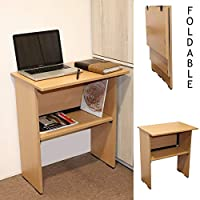 SPACECRAFTS Folding Table Computer Desk PC Laptop Writing Table for Home Office The foldable design for easily store and move will meet your daily demands. And it is multifunctional, can be served as computer desk ,writing table or coffee table, dini...