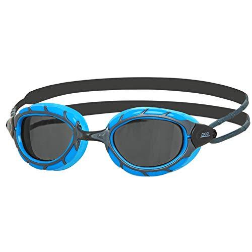 Zoggs Gafas de Natación, Adultos Unisex, Azul/Negro/Humo