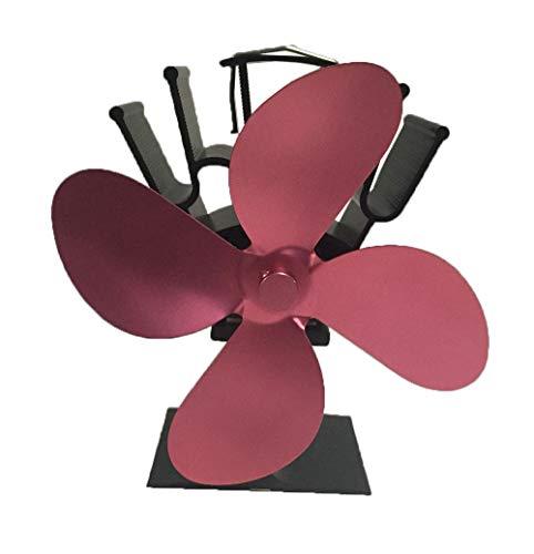 Ventilador de chimenea,BESTUNE ventilador de chimenea sin humo de 4 palas horno...