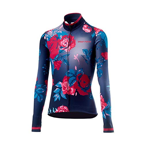 Uglyfrog 2018 Damen Neue Winter Jersey Thermisches Fahrradtrikot Vlies Thermo Langarm Shirt Women Breathable Radfahren Fahrrad lange Hülsen Fahrrad Hemd Frauen Langarm Fahrradbekleidung -