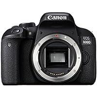 Canon EOS 800D Body Fotocamera Digitale, Nero
