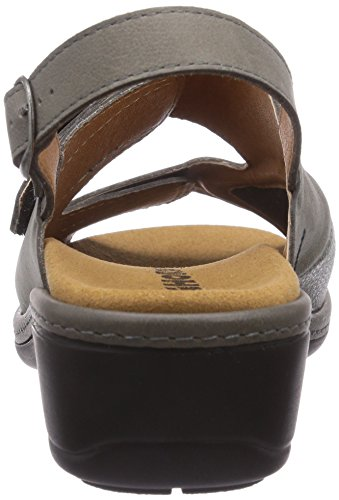 Gevavi 4977 BIGHORN Sandale, Sabot donna Grigio (Grau (grau(grijs) 06))