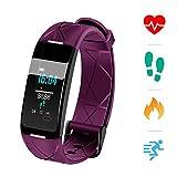 Sonkir-Fitness-Tracker-HR-Aktivitts-Tracker-Uhr-mit-Pulsmesser-Schrittzhler-8-Sportmodi-Kalorienzhler-Schlafmonitor-wasserdichtes-IP68-Armband-fr-Android-und-iPhone