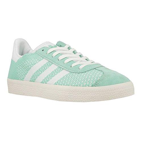 adidas Damen Gazelle Primeknit Sneaker Grün (Easy Green/Footwear White/Chalk White)