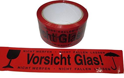 Ada Glas (Vorsicht Glas! Klebeband rot/schwarz)