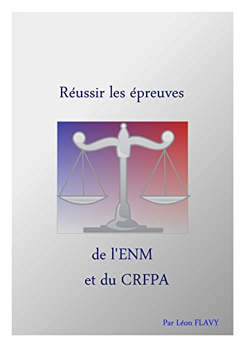 CONCOURS ENM CRFPA