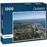 Cuxhaven - Puzzle 1000 Teile mit Bild von oben