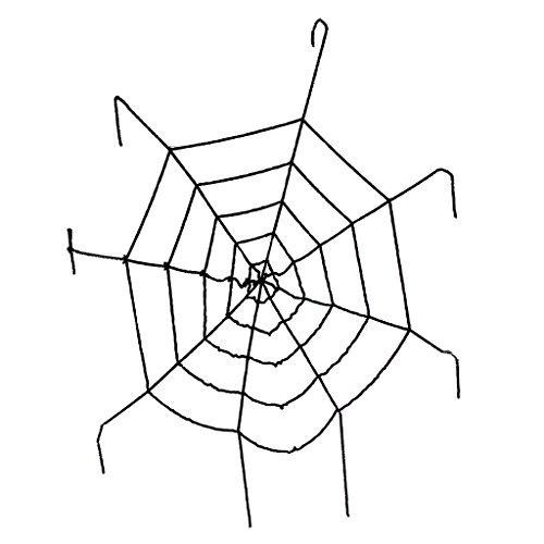 alloween Große Große Spinnennetz Seil Gurtband Einfach Zu Hängen ()