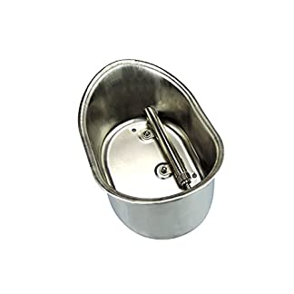 "Farm & Ranch 1/2"" Stainless Steel Automatic Pig Waterer Hog/Sow Water Bowl with Nipple Drinker Large Farm & Ranch 1/2″ Stainless Steel Automatic Pig Waterer Hog/Sow Water Bowl with Nipple Drinker Large 41vDb gXbIL"