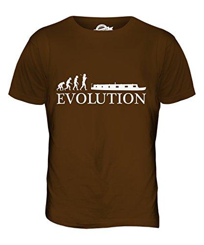 CandyMix Schiff Ohne Eigenen Antrieb Evolution Des Menschen Herren T Shirt Braun