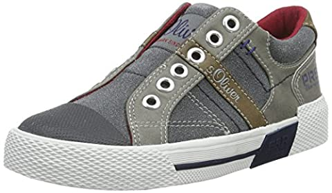s.Oliver Jungen 44104 Low-Top, Grau (Grey 200), 33 EU