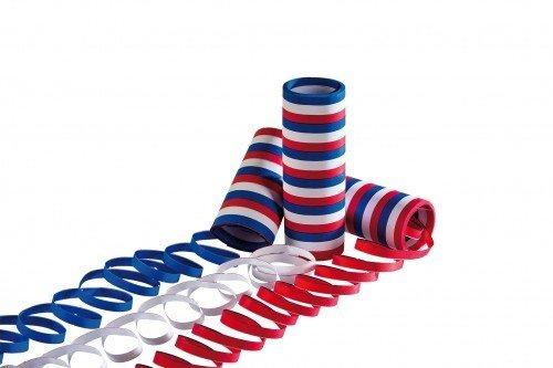 r Pack Luftschlangen rot/weiß/blau ()