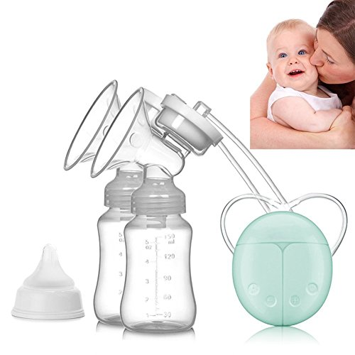 [nouvelle version 2017] Mincheda Hands Free Dual allaitement électrique pompe automatique massage post-partum prolactine