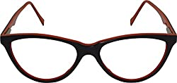18CaratDX CatEyes Brown/Peach Womens Spectale Frame
