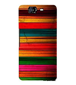 PrintVisa 3D Art Pattern 3D Hard Polycarbonate Designer Back Case Cover for Micromax Knight A350